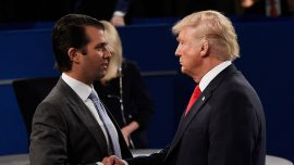 Trump's son says 'happy' to work with Senate intelligence panel on Russia