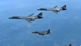 US Fighter Jets Again Intercept Russian Bombers Off Alaska