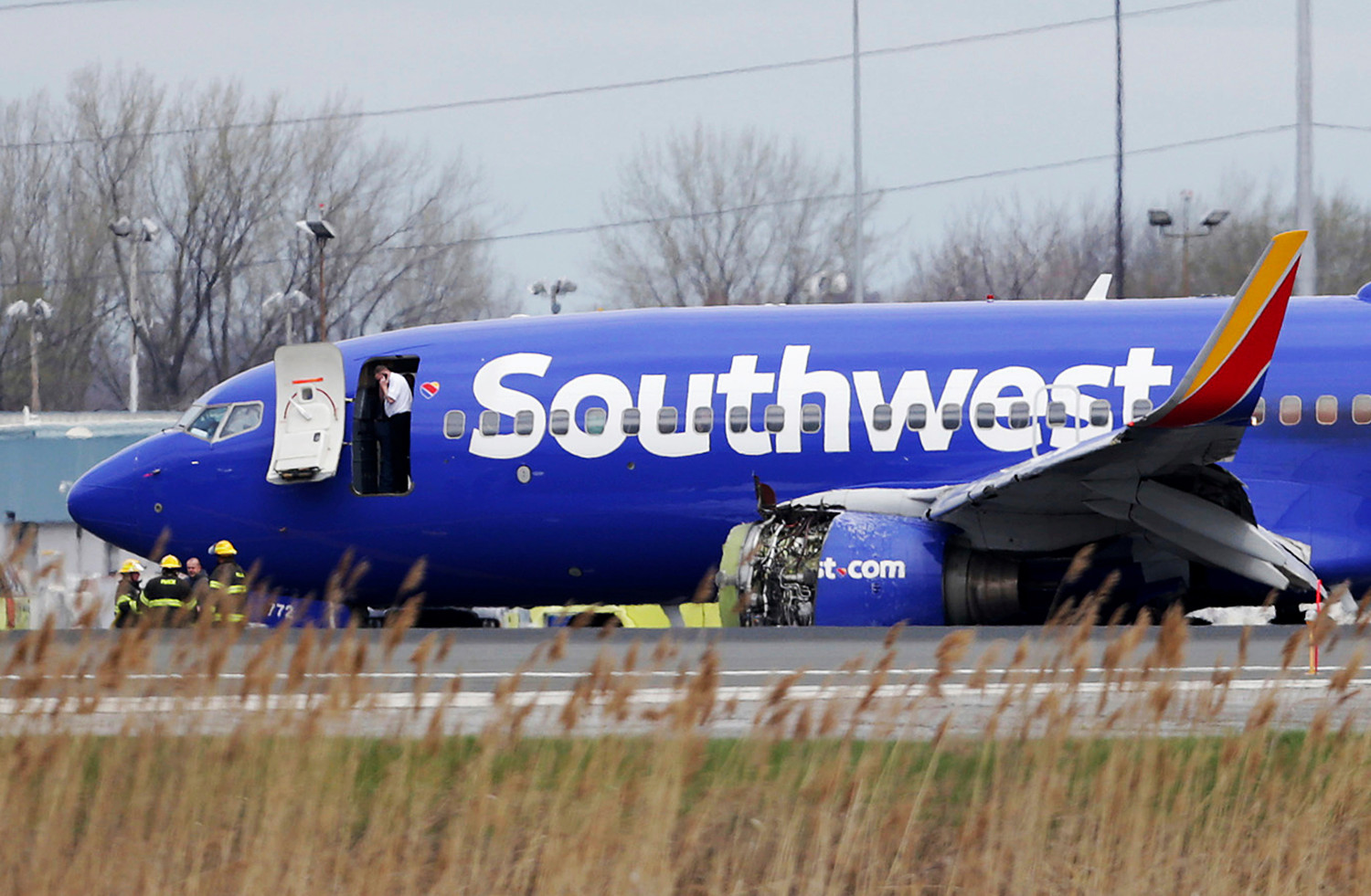 Southwest Airlines plane on runway