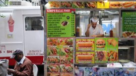 New York City Gives Letter Grades for Food Cart Cleanliness