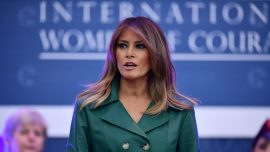 Melania Trump Says She's 'Deeply Concerned' About E-Cigarette Use