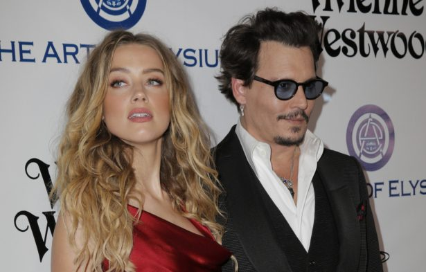 Actors Amber Heard and Johnny Depp attend The Art of Elysium 2016 HEAVEN Gala