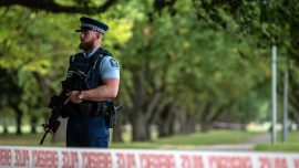 VIDEO: Officers Ram and Detain New Zealand Mosque Shooter