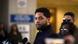 Disturbing Videos Show Actor Jussie Smollett With White Rope Around His Neck