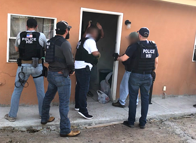 A stash house in El Paso, Texas. (ICE)