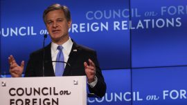 FBI Director: Chinese Communist Party's Society-Wide Theft Is Major Threat to USA