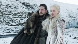 Game of Thrones Stars Kit Harington, Emilia Clarke, and Sophie Turner Comment on Controversial Finale