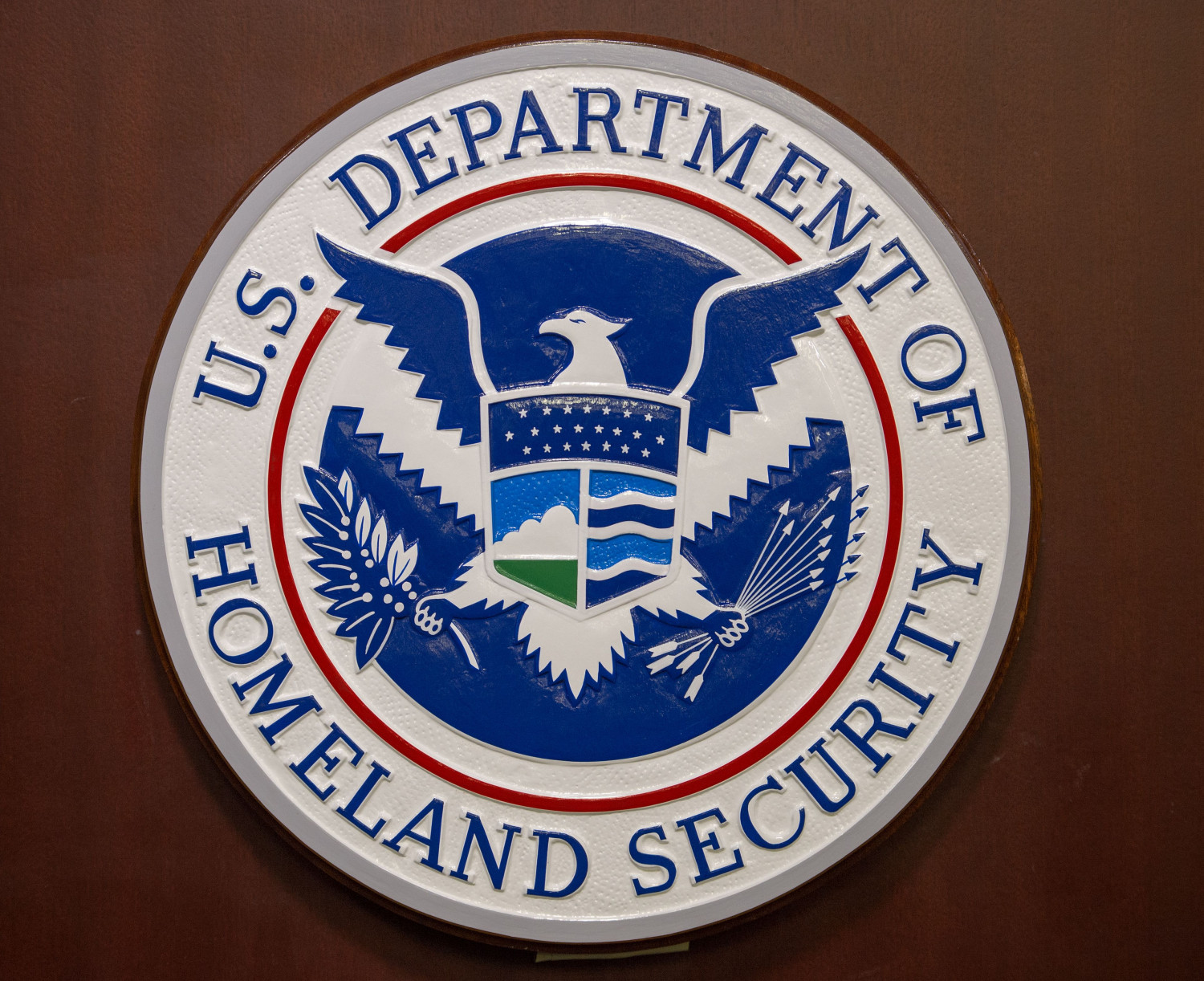 The Homeland Security seal