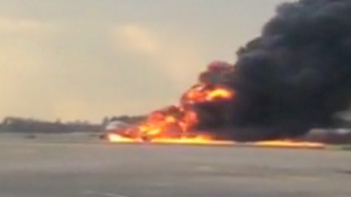 at least 13 killed after russian passenger plane catches