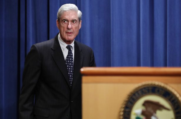 Special Counsel Robert Mueller arrives