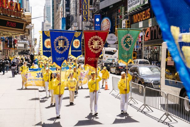 World Falun Dafa Day parade 2019