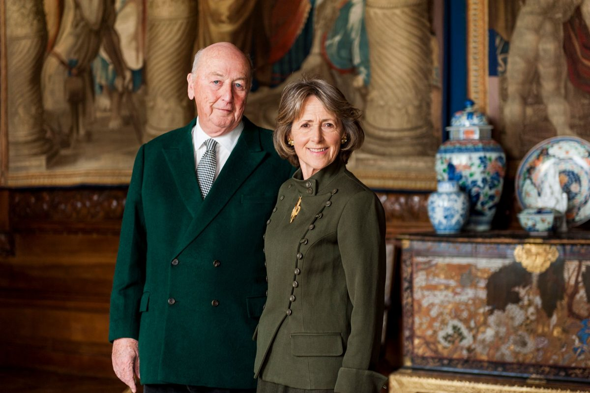 The Duke and Duchess of Devonshire.(Photo by Simon Broadhead, © Chatsworth House Trust)