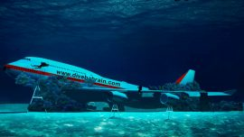 Bahrain Underwater Theme Park Featuring Boeing Jet to Open in August
