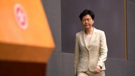 Hong Kong Leader Carrie Lam Apologizes But Refuses Announcing Withdrawal of Extradition Bill