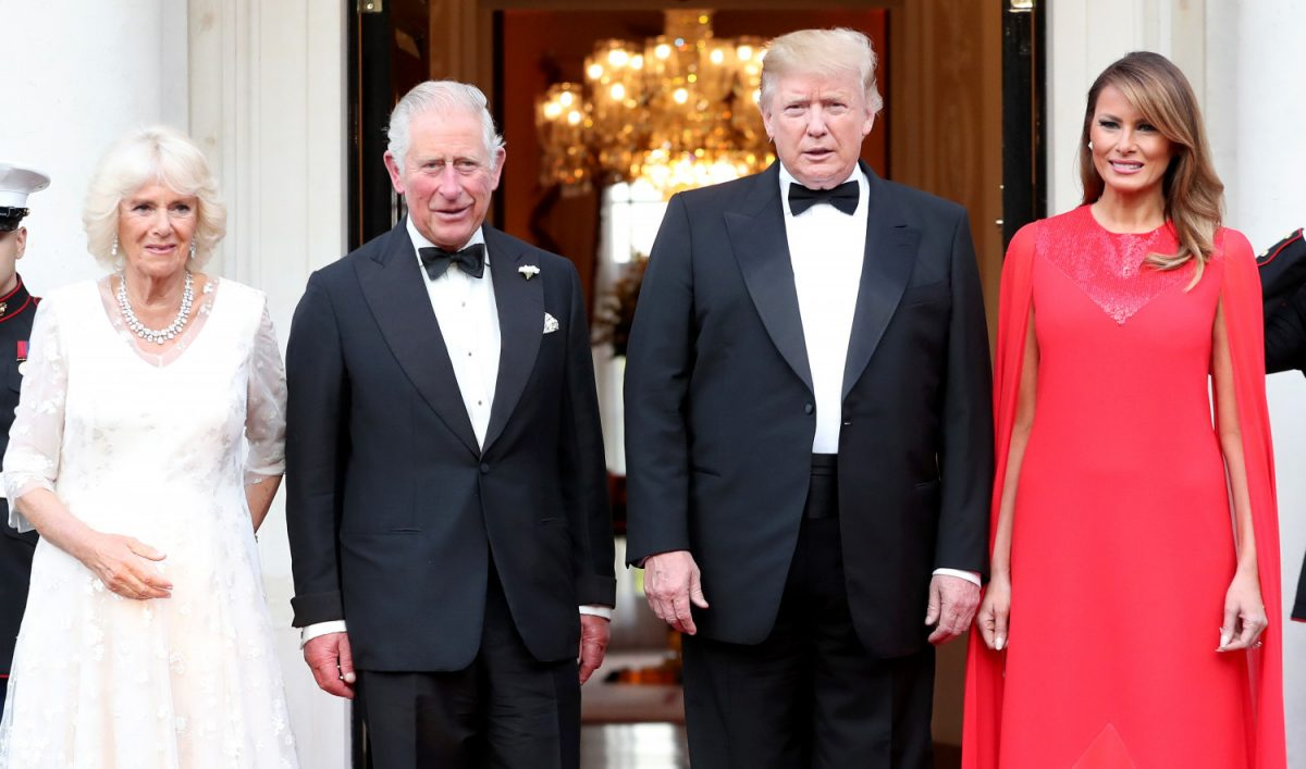 Prince Charles collars Donald Trump over climate change on state visit