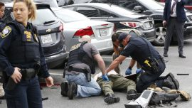 Man Shot and Killed in Gunfire Exchange Outside Dallas Courthouse