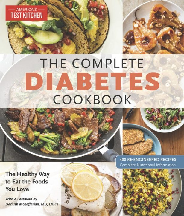 """The cover for """"The Complete Diabetes Cookbook."""