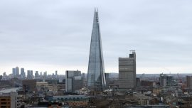 Man Seen Climbing London's Shard Skyscraper Without Harness