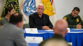 Trump and Pence Blast News Coverage of Border Visit