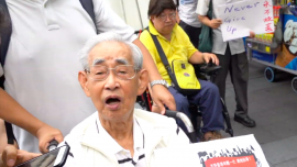 Thousands Of Hong Kong Seniors March To Support Young Protesters