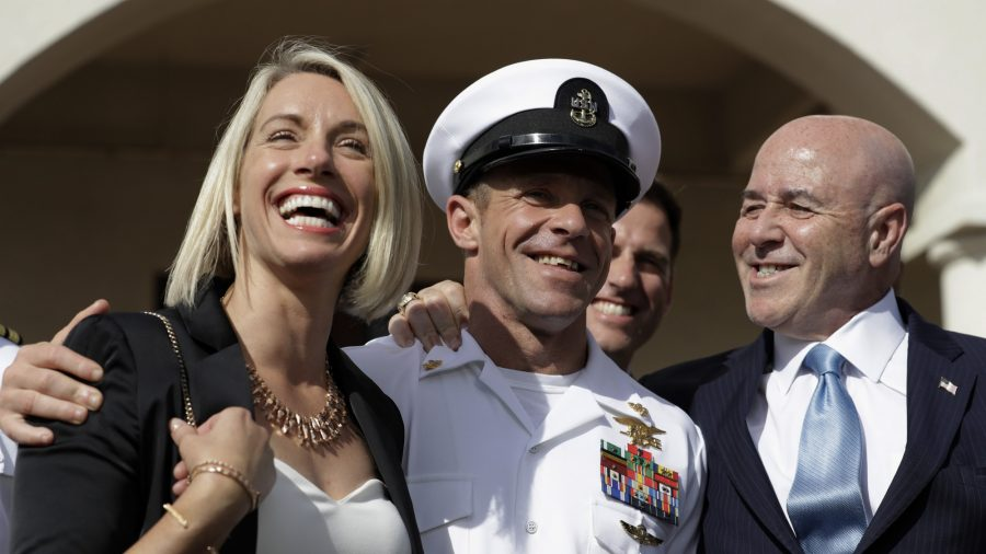 Trump Congratulates Navy SEAL Eddie Gallagher on Acquittal: 'Glad I Could Help!'