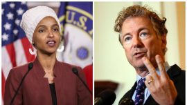 Ilhan Omar Shares Post Celebrating Violence Against Rand Paul