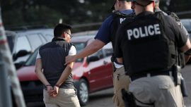 ICE Agents Detain 680 Illegal Immigrants Working in Mississippi