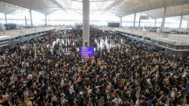 Hong Kong's Airport Reopens on Tuesday After Unprecedented Closure