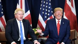 Trump meets with UK's Boris Johnson and India's Modi at UN