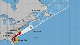 Hurricane Dorian Moves North, Claims First Death in North Carolina