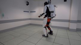 Paralyzed Man Walks Again With Brain-Controlled Exoskeleton