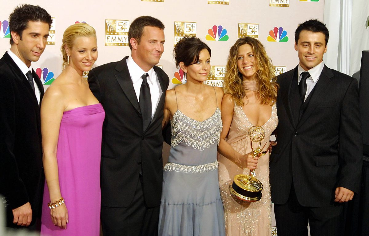 Friends cast at Emmy