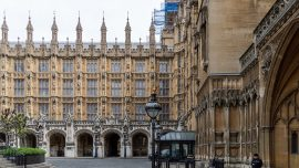 UK Police Detain Man Who Doused Himself in Flammable Liquid Outside Parliament