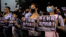 Hong Kong Protesters Mark 7 Months Since Brutal Mob Attack
