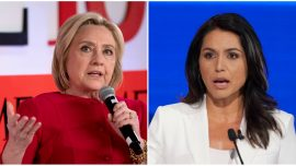 Tulsi Gabbard's Husband Shares Picture, Defends Her From Hillary Clinton's Attacks