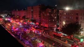 10 Injured, Including 9 Firefighters, After Five-Alarm Fire at Bronx Apartment
