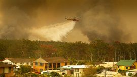 Fourth Person Dies in Australian Bushfires