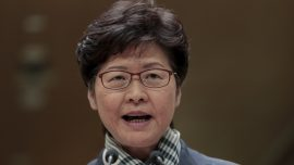 Hong Kong Leader Says Not Cooperating With US on Port Calls After China Retaliates Human Rights Bill