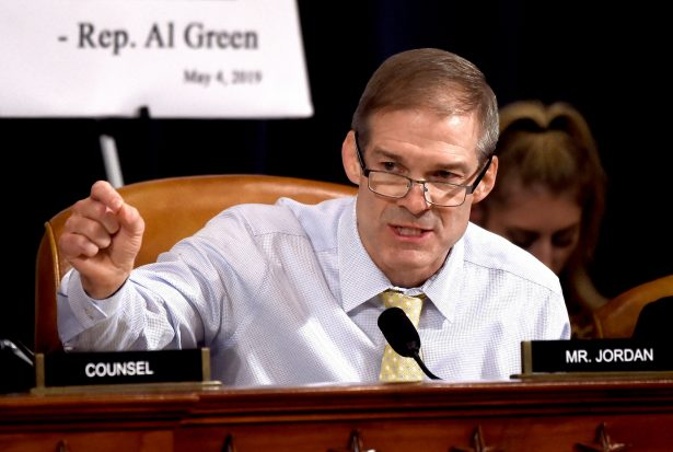 Jim Jordan Proposes Striking Article One From Trump Impeachment Articles