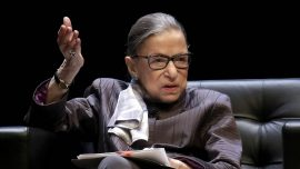 Ruth Bader Ginsburg Puts Temporary Hold on Trump Financial Records Subpoena