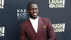Kevin Hart Thankful to Be Alive During First Public Appearance After Car Crash