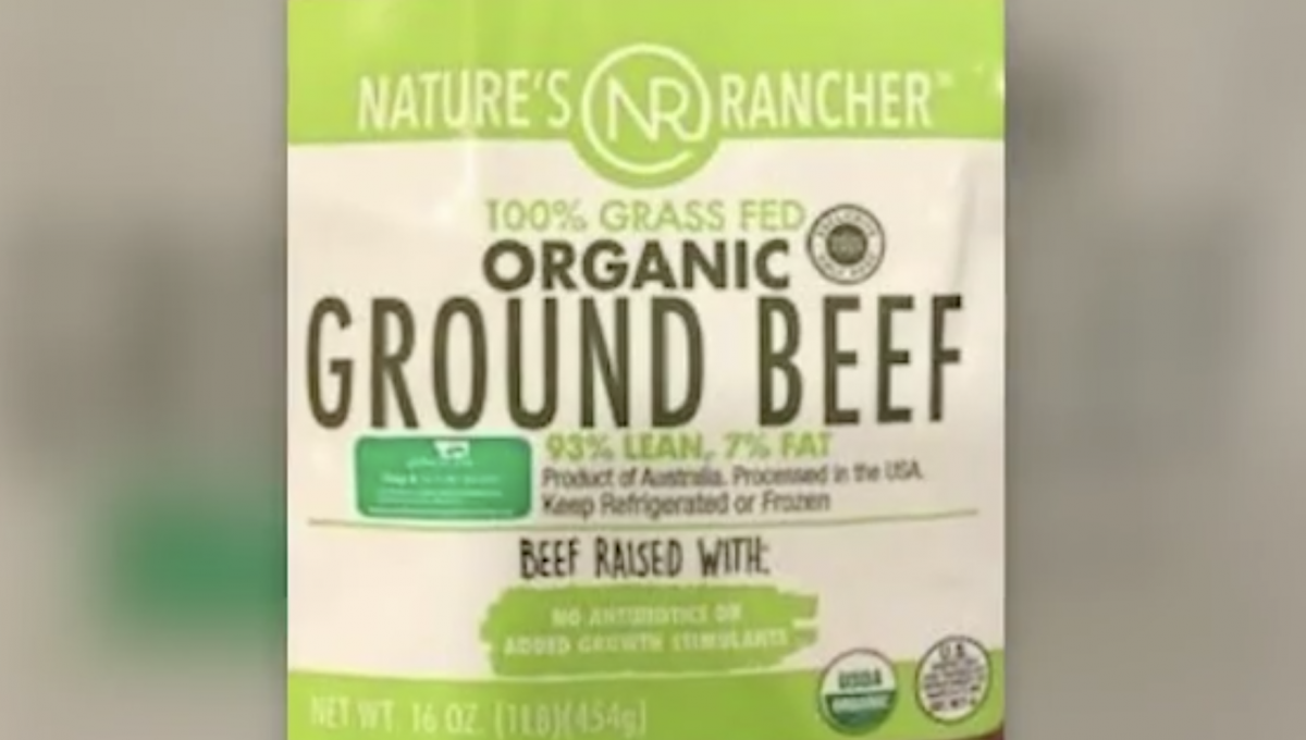 The USDA announces a beef recall 1
