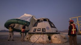 Boeing Capsule Returns to Earth After Aborted Space Mission