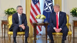 Trump Praises, Defends NATO Alliance at Summit