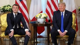 Trump, Macron Find Common Ground at NATO Summit