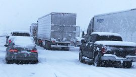 Rain, Snow and Wind Could Complicate Post-Holiday Travel out West