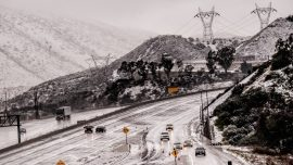 Southern California Skies Clear but Highway Closures Persist