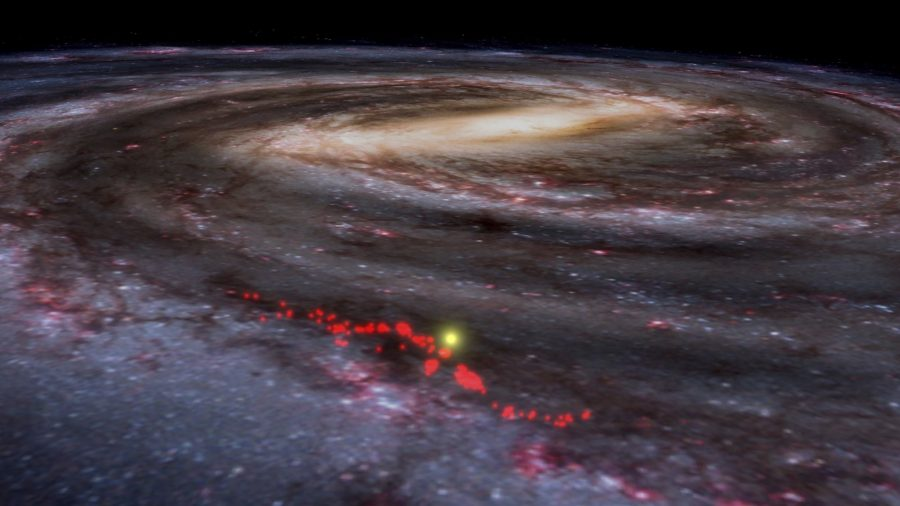 Titanic Wave of Star-Forming Gases Found in Milky Way