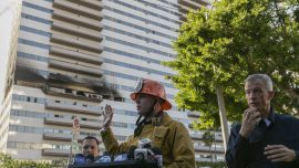 Man, 19, Gravely Injured in Los Angeles High-Rise Fire Dies