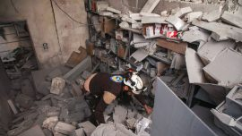 Air Strikes Hit Hospitals, Camps in Northwest Syria, Turkey Demands Pull-Back
